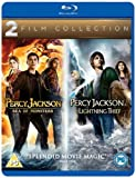 Percy Jackson and the Lightning Thief / Percy Jackson: Sea of Monsters Double Pack [Blu-ray]
