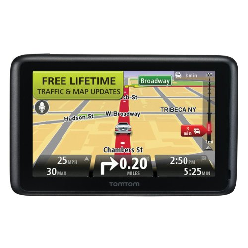 TomTom GO 2535TM 5-Inch Bluetooth GPS Navigator with Lifetime Traffic & Maps and Voice Recognition