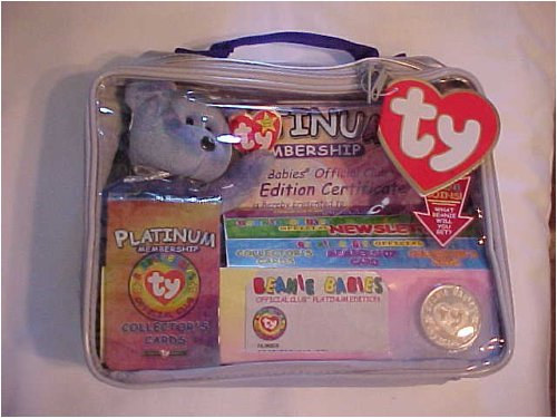 Ty Beanie Babies Official Club Kit II: Platinum Edition - 1