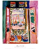 (20x24) Henri Matisse The Open Window, Collioure, 1905 Art Print Poster