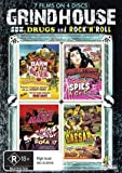 Grindhouse - Sex, Drugs & Rock 'n Roll (7 Films) - 4-DVD Set ( Rock Baby - Rock It / Teen Mania / High School Caesar / Naked Youth / Prehistoric Women / Spies-a-Go-Go / Barn of the Naked Dead ) ( Wild Youth / The Virgin Goddess (Pre histori