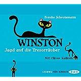 Winston - Teil 3: Jagd auf die Tresorräuber: Lesung mit Oliver Kalkofe (3 CDs)