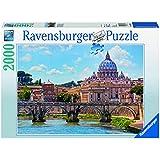 Ravensburger - Puzzles 2000 piezas, diseño Castel Sant'Angelo, Roma (16686 2)