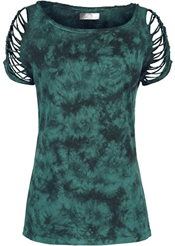 R.E.D. by EMP Cut Out Shirt Maglia donna verde XXL