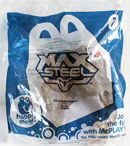 McDonald's Happy Meal Toy Max Steel Air Elementor #7 - 1