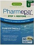 Igennus Pharmepa STEP 1: RESTORE - pure fish oil - 90% EPA omega-3 1000mg - supports a healthy brain, heart & mood balance - 60 capsules