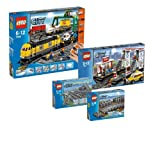 LEGO City 7499 7895 7937 7939 Cargo Train Super Set