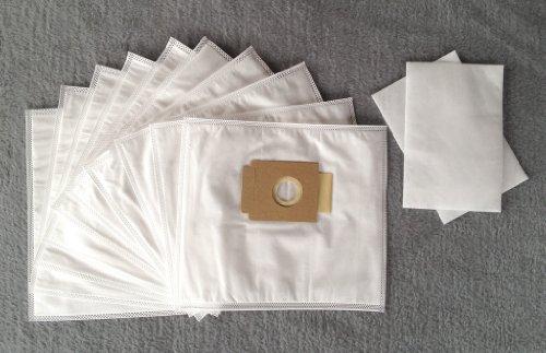 10-Staubsaugerbeutel-fr-QUIGG-Pro-Nature-Eco-aldi-Staubbeutel-Filtertten-2-Filter-NV619