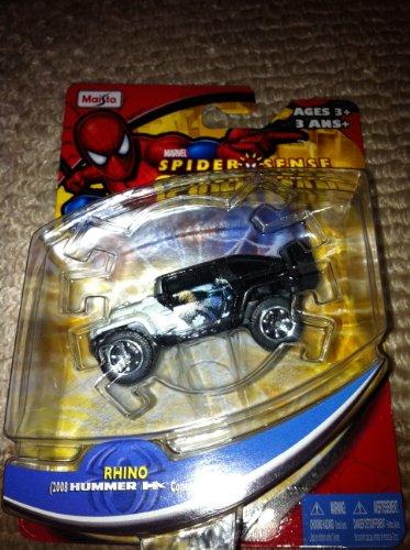 Marvel Spider Sence Spider Man Rhino 2008 Hummer