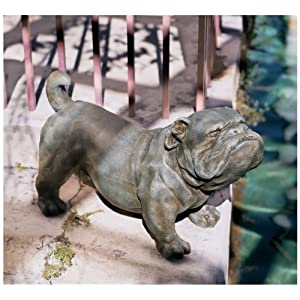 Brutus, the English Bulldog Sculpture