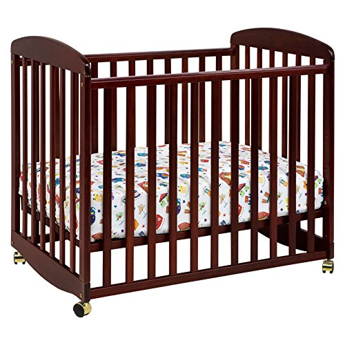 DaVinci Alpha Mini Rocking Crib - Cherry