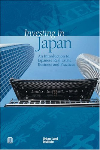 Buy Investing in Japan an introduction to Japanese real estate business and practices087420996X Filter