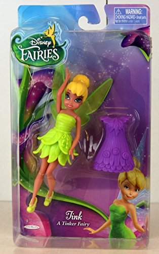 Disney Fairies, Mini Doll, Tink (A Tinker Fairy), 4.5 Inches - 1