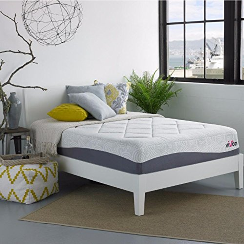 Buy Bargain Vivon 13 Inch Gel Memory Foam Mattress, Queen