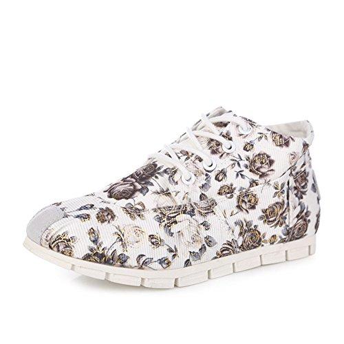 Chaussures de toile d'été/Chaussures de frais et florales art/Mode coréennes respirants casual chaussures