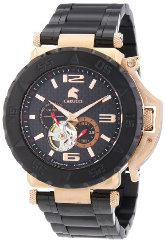 Carucci Watches Men's Watch Teramo CA2199BK-RG