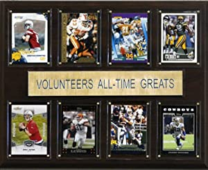 Buy NCAA Football Tennessee Volunteers All-Time Greats Plaque by C&I Collectables