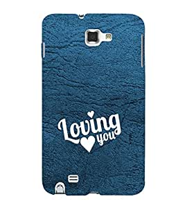 Fuson Premium Printed Hard Plastic Back Case Cover for Samsung Galaxy Note N7000