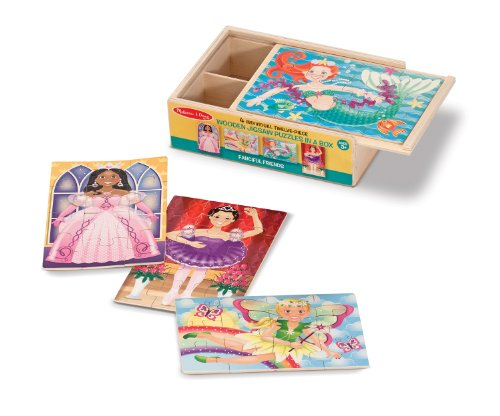 Melissa & Doug Fanciful Friends Puzzles in a Box