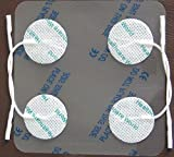 Healthcare World 16 Round Tens Electrode Pads Tens Pads for TPN Tenscare NeuroTrac Flexi Tens machines