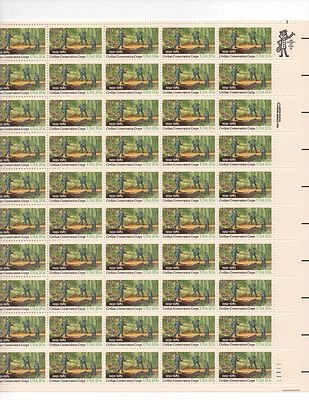 Civilian Conservation Corps Sheet of 50 x 20 Cent US Postage Stamp NEW Scot 2037