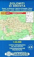 DOLOMITI DI BRENTA 053  1/25.000