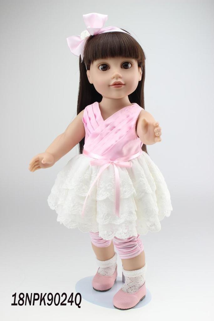 NPK Collection Das Kinderspielzeug ist aus Kunststoff und 18 Zoll 45 cm gro?. Es ist ein hochwertiges Geschenk f¨¹r sch?ne als Weihnachtsgeschenke. online bestellen