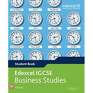 Image: Cover of Edexcel IGCSE Business Studies Student Book with ActiveBook CD