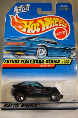 Hot Wheels Mattel Future Fleet 2000 Series #3 of 4 Jeepster Die Cast 1:64 Car Collector #003