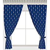Tottenham Hotspur FC Football Team Repeat Crest Pair of Curtains - 54 inch drop