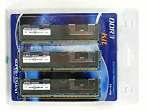Super Talent DDR3 1333 12 GB(3x4G) ECC/REG Hynix Chip Triple Channel Server Memory Kit W13RX12GH