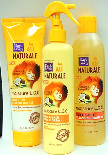 Dark & Lovely Au Naturale Moisture L.O.C Haircare Set (Dark And Lovely Moisture Loc compare prices)