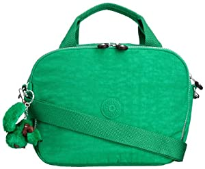 Kipling Women's Palmbeach Beauty Case with Trolley Sleeve and Removable Shoulder Strap K1386040E Cactus Green