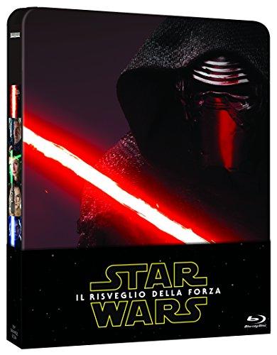 Star Wars   Il Risveglio Della Forza Steelbook  Blu Ray  Disco Bonus PDF