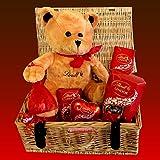 Lindt Lindor and Teddy Luxury Hamper - Lindt Lindor Milk Chocolates - By Moreton Gifts