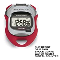 Sportline 480 Tough Timer Stopwatch Sport Stop Gym Date Run Gym Alarm Counter !!