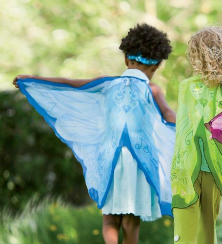 Fabric Fairy Wings, in Blue