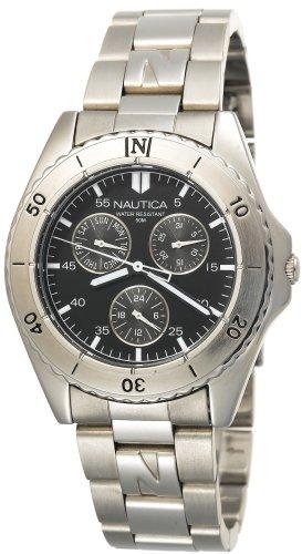 Nautica Men's Metal Round Multifunction Watch #N08505