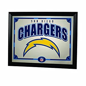 NFL San Diego Chargers 22 Inch Printed Mirror by The Memory Company