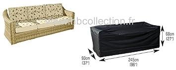 4 housse pour canap banc de jardin 3 places large large gamme confort jardin m390. Black Bedroom Furniture Sets. Home Design Ideas