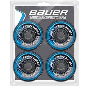 Bauer XR3 Outdoor Inline Hockey Wheels - 4 Pack by Bauer