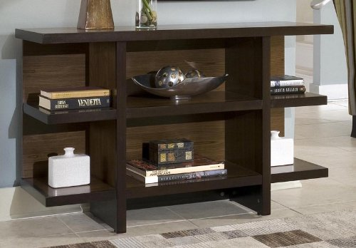 Cheap Console Table with Shelves in Two Tone Finish (VF_HY-5539-22)