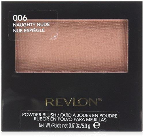 Revlon Powder Blush, 006 Naughty Nude, 0.17 Ounce