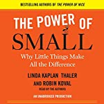 The Power of Small: Why Little Things Make All the Difference   Robin Koval,Linda Kaplan Thaler