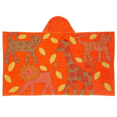 Breganwood Organics Jungle Bath Wrap - Orange