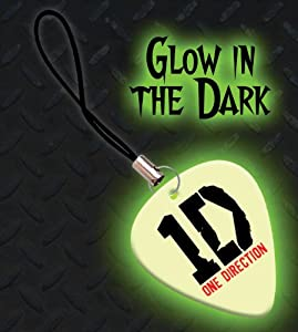 Printed Picks Company One Direction Premium Glow Guitar Pick Mobile Phone Charm by Printed Picks Company
