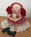 Prim Primative Country RAGGEDY ANN RAG DOLL 17