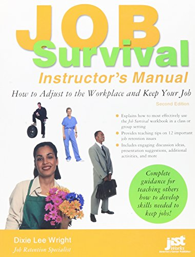 Job Survival: How to Adjust to the Workplace and Keep Your Job