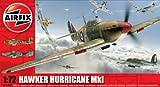 Airfix A02082A Hawker Hurricane Mk1 1:72 Scale Military Aircraft Classic Kit Series 2
