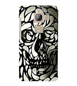 ANIMATED MOSTER PATTERN OF LEAVES 3D Hard Polycarbonate Designer Back Case Cover for LeEco Le Max 2::Le TV Max 2
